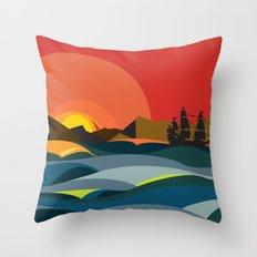 Ocaso Throw Pillow