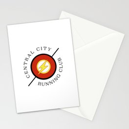 Central City running club Stationery Cards