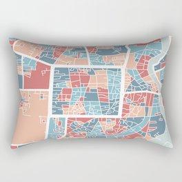 Chiang Mai map Rectangular Pillow