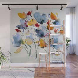 Bunch of flowers Wall Mural
