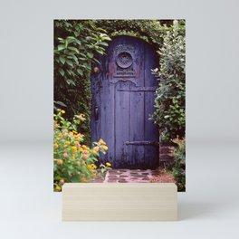 Purple Gate Mini Art Print
