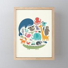 We Are One Framed Mini Art Print