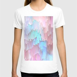 Pastel Glitches Fall T-shirt