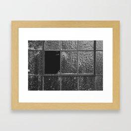 Broken Windows Framed Art Print