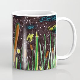 Summer Cattails Coffee Mug