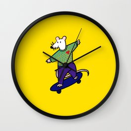 Cool Rat Wall Clock
