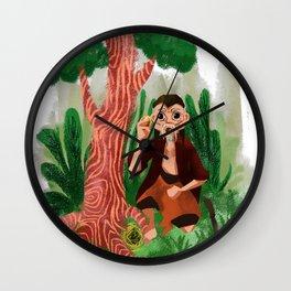 figure legends Indonesia Wall Clock