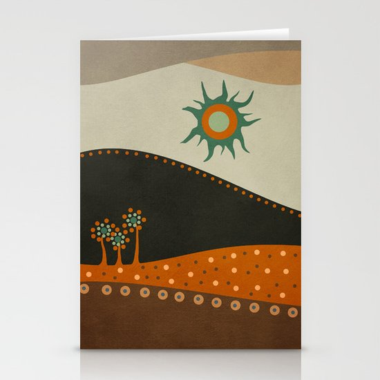 Sweet. Land. Stationery Cards