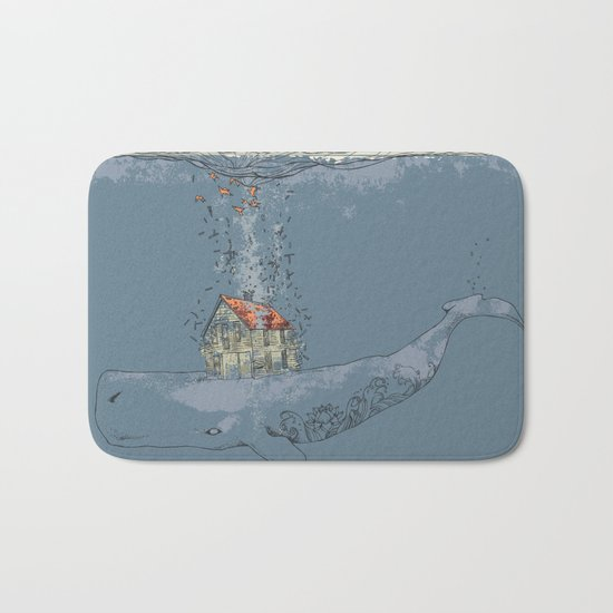 Ocean Home Bath Mat