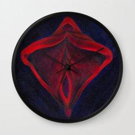 Primis Tenebris (Religious Iconography 2) Wall Clock