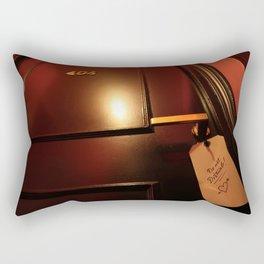 404 error do not disturb Rectangular Pillow