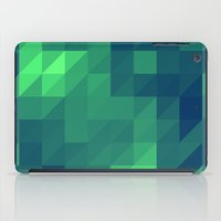 seahawks iPad Cases featuring Polygon Nine by Jambot