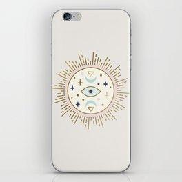 Magical Sun - tarot illustration iPhone Skin