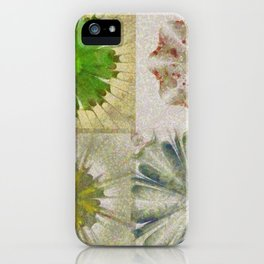 Grasshouse Configuration Flower  ID:16165-050526-69250 iPhone Case