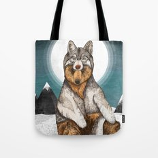 Wear Wolf Tote Bag