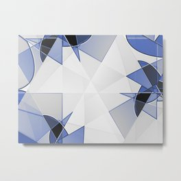 blue background for home decor Metal Print