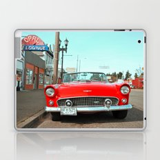 Beautiful, red T-Bird Laptop & iPad Skin