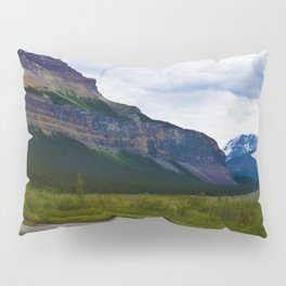 Tangle Ridge in the Columbia Icefields area of Jasper National Park, Canada Pillow Sham