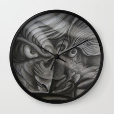 Don't Mess With The Fu Wall Clock