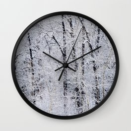 Cottonwood Frost Wall Clock
