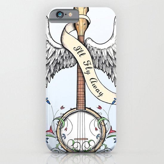 I'll Fly Away iPhone & iPod Case