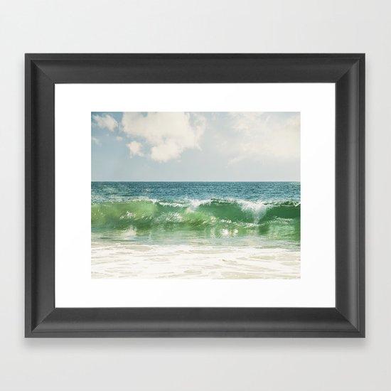 Ocean Sea Landscape Photography, Seascape Waves, Blue Green Wave Photograph by carolyncochrane