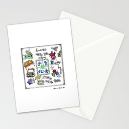 How to make Mahjong? Stationery Cards