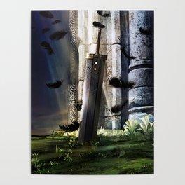 A Hero's sword Poster