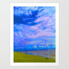 Horizon at Icacos Art Print