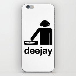 deejay iPhone Skin