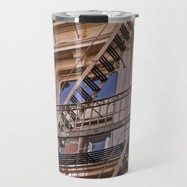 Reflections in SoHo, NYC Travel Mug