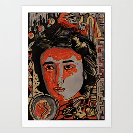 Rosa Luxemburg Art Print