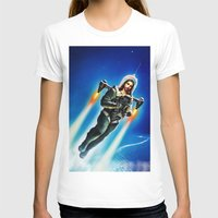 christ T-shirts featuring Cosmic Christ by Saint Lepus