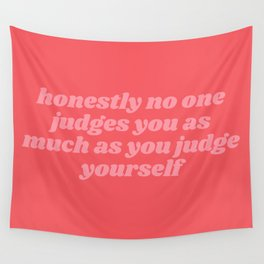 honestly no one Wall Tapestry