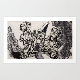 Party Time I Art Print