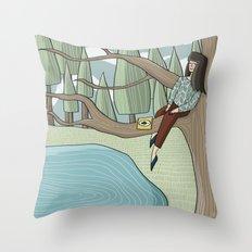 Reading Nook Throw Pillow