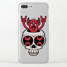 Possessed Clear iPhone Case