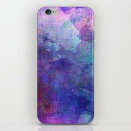 blue opal gemstone iPhone Skin
