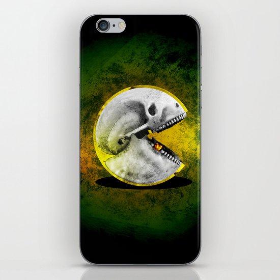 Skull Pacman iPhone & iPod Skin