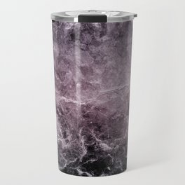 Enigmatic Dark Night Marble #1 #decor #art #society6 Travel Mug