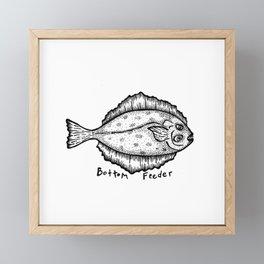 Bottom Feeder Framed Mini Art Print