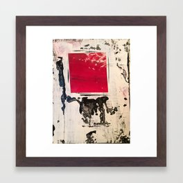 Fire Within, original artwork by Stacey Brown Framed Art Print