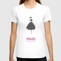 pisces T-shirts featuring Pisces by Cansu Girgin