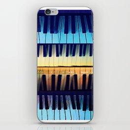 piano2 iPhone Skin