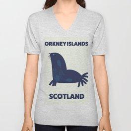Orkney Islands, Scotland Unisex V-Neck