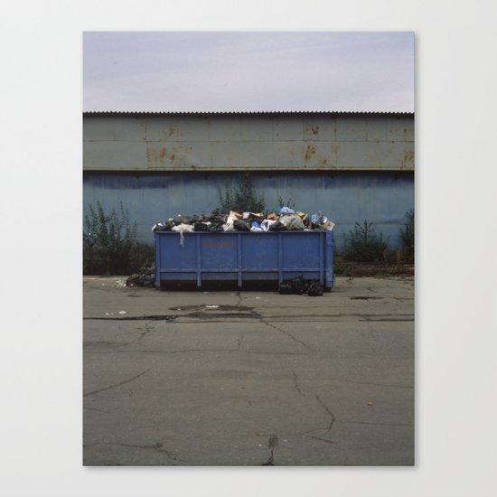 waste Canvas Print