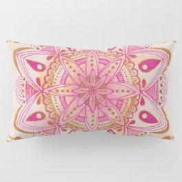 Simple Gold Madala Pillow Sham