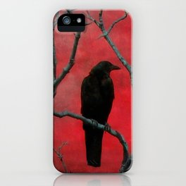 The Color Red iPhone Case