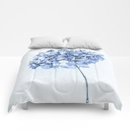 Hydrangea Blue 2 Comforters