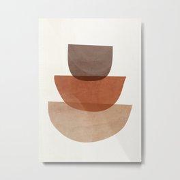 Abstract Shapes 18 Metal Print